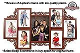 Designer 7 in 1 Photo Frame Brown (5.5x ...