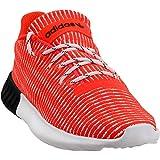 adidas Mens Tubular Dusk Casual Sneakers, Red, 10
