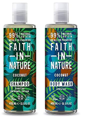 6 Packs Of Faith In Nature Coconut Foam Bath 400ml Health & Beauty