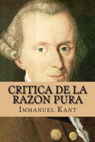 Critica de la razon pura por Immanuel Kant