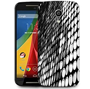 Snoogg Multiple Disc Designer Protective Phone Back Case Cover For Motorola G 2nd Genration / Moto G 2nd Gen