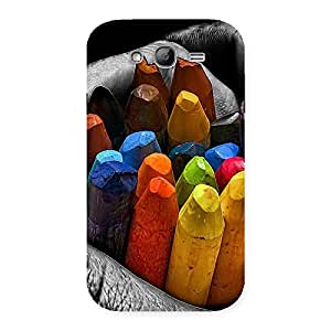 Cute Multicolor Cryons Back Case Cover for Galaxy Grand