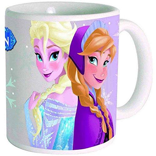 Mug ceramique la reine des neiges