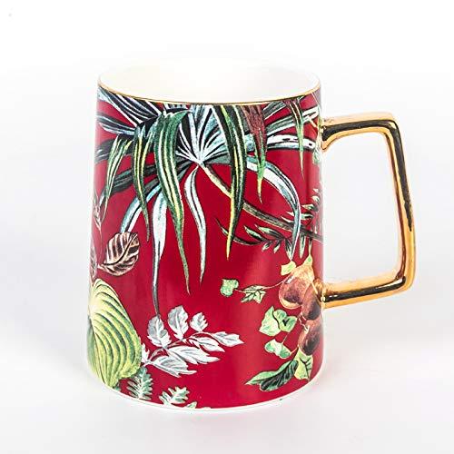 Kreative Keramik Tasse Haushalt Große Kapazität Becher Persönlichkeit Männlichen und Weiblichen Studenten Tasse Büro Teetasse