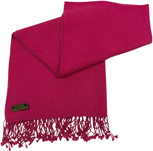 hot-pink-high-grade-100-cashmere-shawl-scarf-wrap-hand-made-from-nepal-cj-apparel-new
