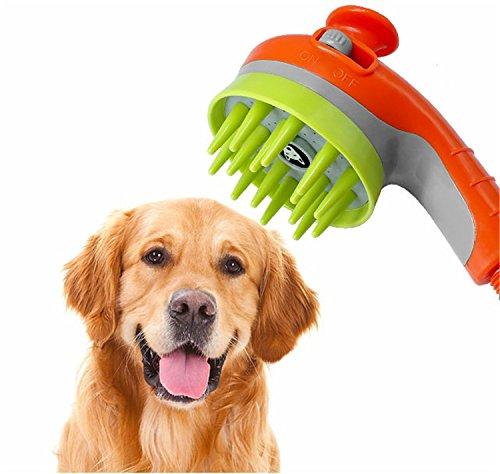 Hangang Spruzzatore Doccia per Animali da Compagnia, Multifunzionale Tasca Toelettatura Per Animali Da Compagnia doccia testa strumento di lavaggio per cani Cavalli Gatti