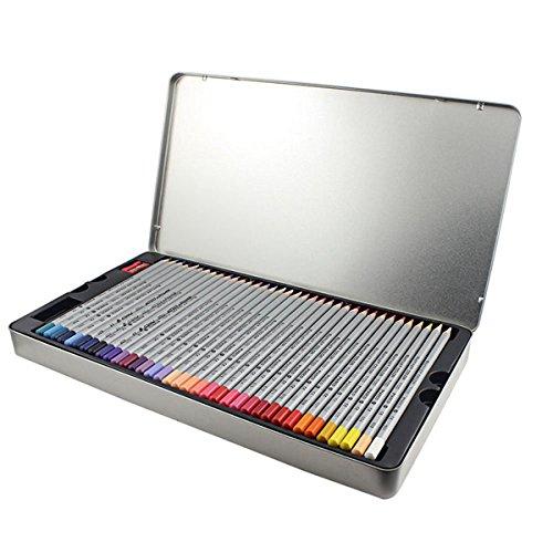 BabyIn Lápices colured para Pinturas de niños del jardín secreto del arte de dibujo Aupplies artesanía, Adultos Libros para colorear (casilla de información)(72)