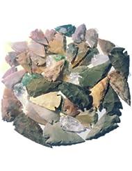 50 pointes de la flèche 3,5-6,5cm reproductions selon âge de pierre