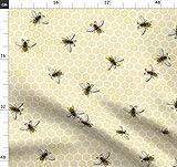 Biene, Honig, Wabe, Bienenzucht, Stoffe - Individuell