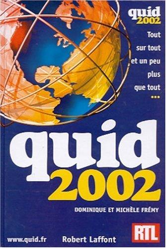 Quid 2002 par Dominique Frémy, Michèle Frémy