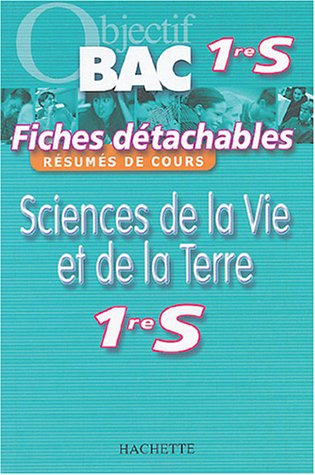 Sciences de la Vie et de la Terre : 1re S