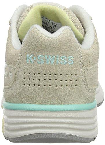 K-Swiss Si-18 Trainer 2 M, Baskets basses femme Beige - Beige (Beige/White)