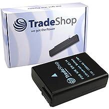 Trade-Shop Batterie Lithium-Ion pour Nikon D3100 / D3200 / D5100 / P7000 / P7100 / P7700 / D-3100 / D-3200 / D-5100 / P-7000 / P-7100 / P-7700, équivalent de EN-EL-14 ENEL-14 EN-EL14 ENEL14 Avec puce info