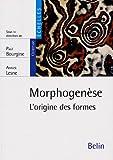 Morphogenèse - L'origine des formes