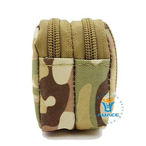 Multifunzione Mini Micro sopravvivenza Gear tattico Sacca Molle Pouch Coin Key Pouch, campeggio portatile Borse da viaggio Borse Strumento Borsa marsupio, ACU CP