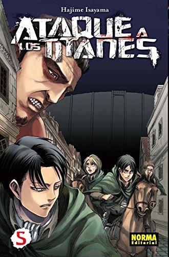 Ataque a los Titanes 5 (CÓMIC MANGA) por Hajime Isayama