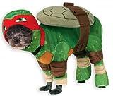 Rubies Disfraz Oficial de Perro para Mascota, Raphael, Adolescentes Mutant Ninja Turtles – Pequeño
