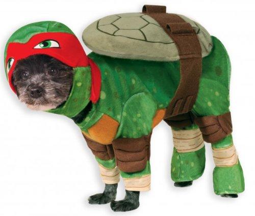 Rubies Dog Ninja Turtle Raphael Pet Costume (Tmnt Kostüme Hund)