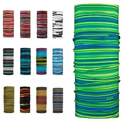 P.A.C. Original Stripes - Multifunktionstuch im coolen Streifen-Look von P.A.C. - Outdoor Shop