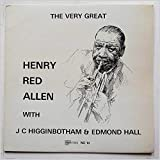 The Very Great Henry Red Allen [LP]