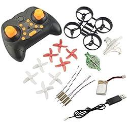 MagiDeal Mini RC Quadcopter Helicóptero Pequeño Robot Teledirigido Juguete Sin Ensamblar Kit