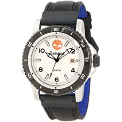 Timberland Gents Charlestown Black Leather Watch 13327JSTB-01