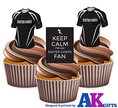 exeter-keep-calm-and-rugby-lot-comestibles-pour-cupcakes-col-montant-lot-de-12
