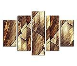 Leinwandbild 150x100cm Bild – Holzmuster