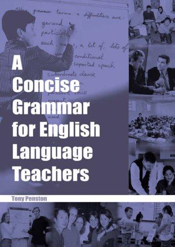 Free Pdf A Concise Grammar For English Language Teachers Elt