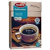 RUBIN Kaffeefilter Größe 4 100St