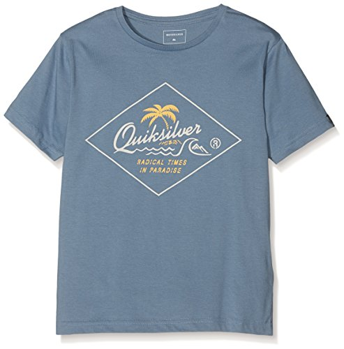 quiksilver-ss-classic-tee-youth-volcano-front-t-shirt-garcon-captains-blue-fr-14-ans-taille-fabrican