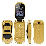 F15 MINI Flip Sports Car Style Cell Phone Supports Dual SIM Cards MP3/MP4