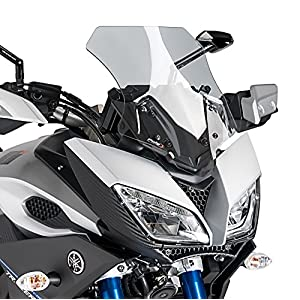 Motorbike Puig Windscreen Windshield Double bubble Yamaha MT-09 Tracer 15-17 light smoke