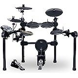 XDrum DD-520 E-Drum Set (elektronisches Schlagzeug, mit Sticks & Fußmaschine, Kopfhörer-Anschluss, 458 Sounds)