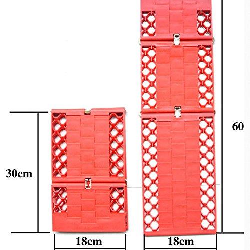 E-Bestar-2pcs-piastre-di-dsenlisement-per-autoSUVNon-pi-di-35-tonnellate-dei-Camion