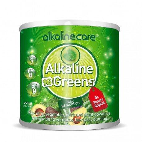 Kräuter-nagel (AlkalineCare - alkalische Grüns 16 Mix Gemüse Kräuter und Pflanzenpulver 220g verbessern die Qualität der zellulären Diät, stärken die Nägel und Haare, Balance das Gewicht, halten junge, weiche und glatte Haut)