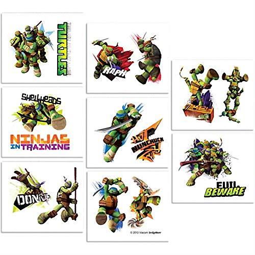 (Turtles 18 Stk Haut Tattoos - Teenage Mutant Ninja Turtles)