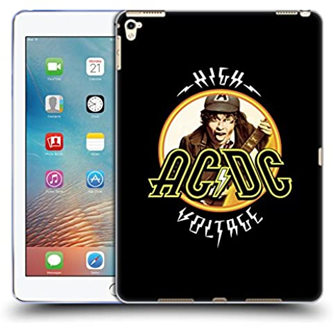 Ufficiale AC/DC ACDC High Voltage Titoli Canzoni Cover Morbida In Gel Per Apple iPad Pro 9.7
