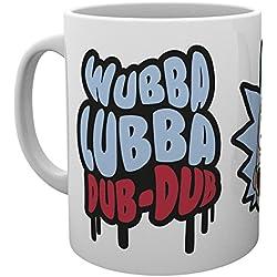 GB Eye, Rick y Morty, Wubba Lubba Dub Dub, Taza