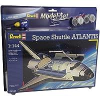 Revell - Maqueta modelo set Space Shuttle Atlantis, escala 1:144 (64544)