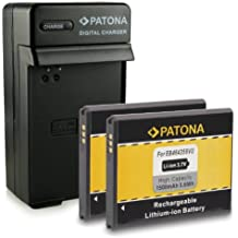 Nouveauté - 4en1 Chargeur + 2x Batterie comme EB-464358VU EB464358VU pour Samsung Galaxy Ace Duos GT-S6802 | Galaxy Ace Plus GT-S7500 | Galaxy Mini 2 GT-S6500 / GT-S6500D | GT-S6102 | GT-S6500L | GT-S6500T | GT-S7508 et bien plus encore… [ Li-ion; 1500mAh; 3.7V ]