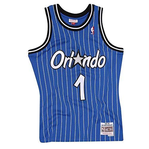 Mitchell & Ness Anfernee Hardaway #1 Orlando Magic 1994-95 Swingman NBA Trikot Blau, L