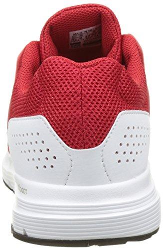 adidas Herren Galaxy 4 Laufschuhe Rot (Scarlet/Scarlet/Footwear White)