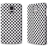 Designer Hülle / Case / Cover für das Samsung Galaxy S5 mini - ''Black Dots'' von caseable