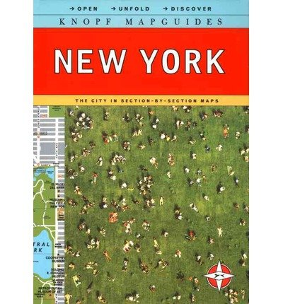 Knopf Mapguide New York (Revised) (Knopf Mapguides) [ KNOPF MAPGUIDE NEW YORK (REVISED) (KNOPF MAPGUIDES) ] By Knopf Guides ( Author )Feb-15-2011 - Mapguide York New