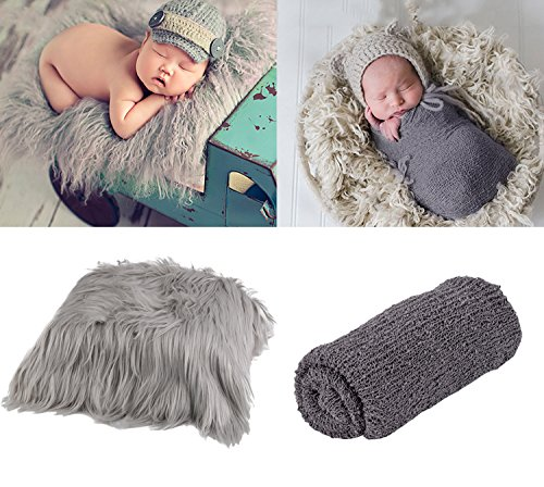 New Born Kostüm - ZOYLINK Newborn Wrap, Foto Prop lange