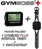 Gymboss Plus Intervall-Timer und Stoppuhr Uhrenarmband