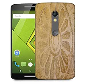 Snoogg Circle In Sand Designer Protective Phone Back Case Cover For Motorola Moto X Play