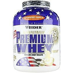 Weider, Premium Whey Protein, Erdbeer-Vanille, 1er Pack (1 x 2,3 kg)