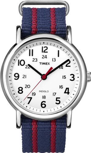 uhr Unisex Weekender Slip Through Analog Quarz T2N747 (Timex-uhr Auf Verkauf)